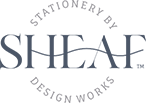Bespoke Invitation Design by Sheaf Design Works Logo